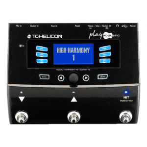 TC Helicon Play Acoustic Vocal Effects Processor