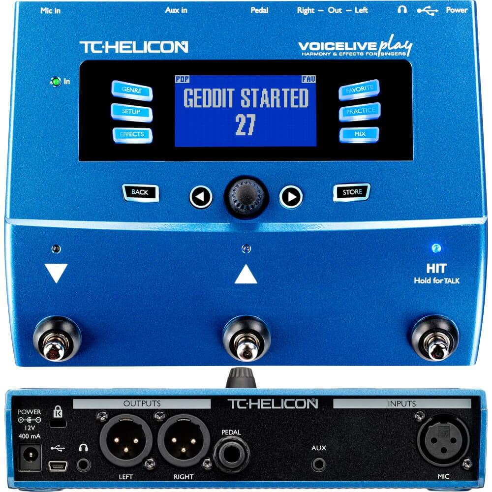 Best Multi Effects pedal below $300 - TC Helicon Voice Live Play
