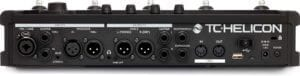 TC Helicon VoiceLive 3 Extreme Rear Panel vocal processor