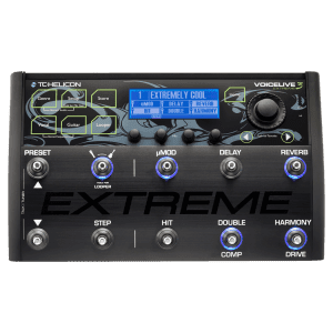TC Helicon VoiceLive 3 Extreme Best Multi effects pedal over $300