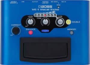 Boss VE-1 Vocal Echo - Vocal Reverb Pedal