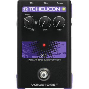 TC Helicon Voiceton X1 Vocal Distortion Pedal
