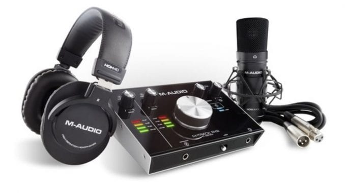 M-Audio Complete Recording Bundle