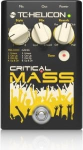 TC Helicon Critical Mass Vocal Octave Pedal