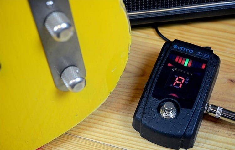 Using Bass Tuner Pedal