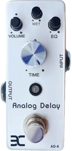 EX AD-6 Analog Mini Delay Pedal for Bass