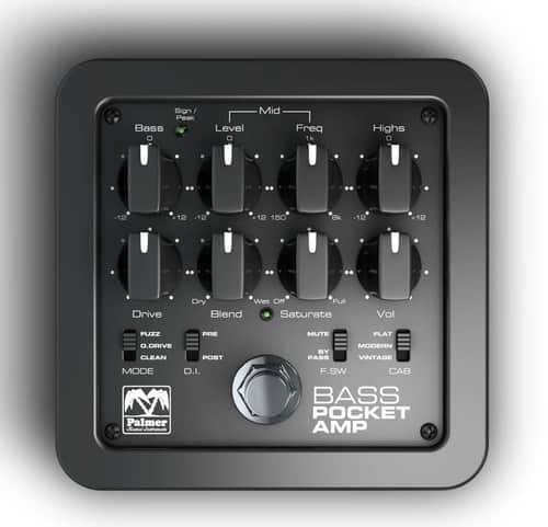 Palmer Bass Preamp for Portable Use