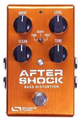 Source Audio One Series-Aftershock Bass Distortion Pedal