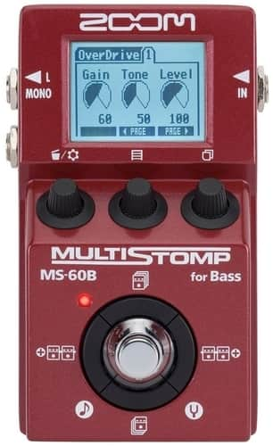 Zoom MS-60B Multi-Effect Bass Pedal