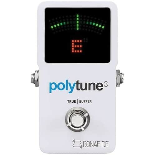 TC Electronic PolyTune 3 Polyphonic LED Guitar Tuner Pedal