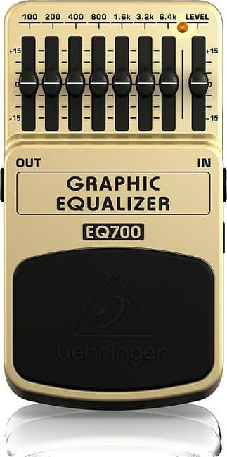Behringer EQ700 Ultimate 7-Band Graphic Equalizer for Guitar