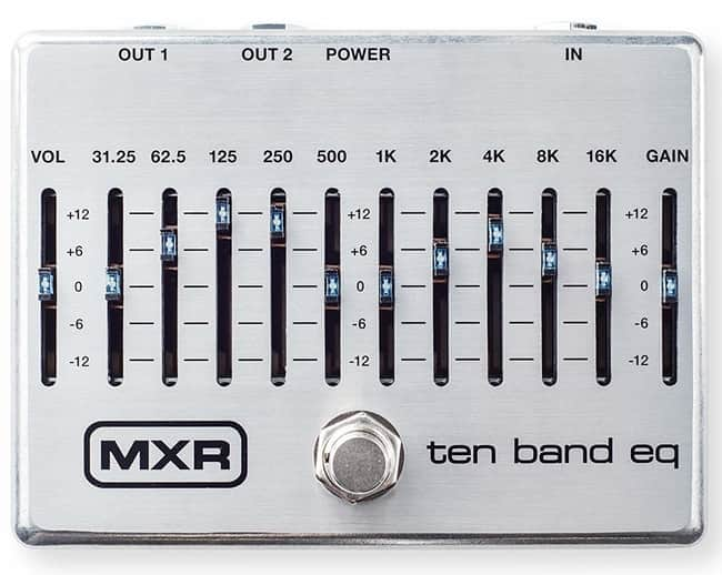 MXR M108S 10-Band EQ Guitar Effects Pedal