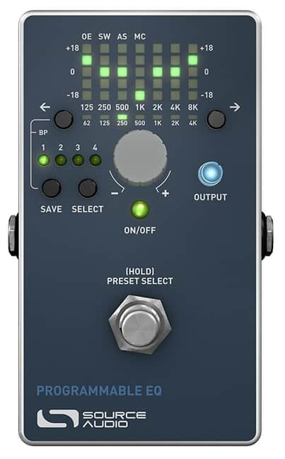 Source Audio SA170 Programmable Guitar EQ Processor