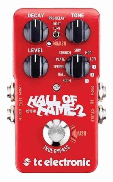 TC Electronic Hall of Fame 2 Electric Guitar Reverb Pedal
