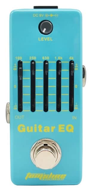 Tom'sline GT EQ Analog 5-Band Guitar Equalizer Pedal Processor