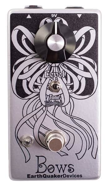 EarthQuaker Devices Bows Germanium Preamp Guitar Effects Pedal