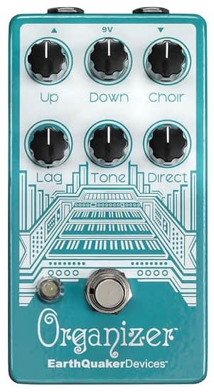 Organ Machine Emulator for Guitar