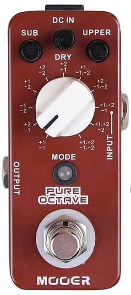 Guitar Octave Processing Pedal for Guitar
