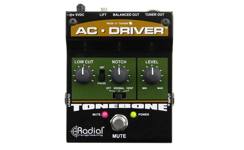Radial AC Driver Acoustic Preamp Review
