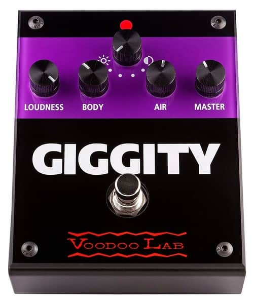 Voodoo Lab Giggity Analog Mastering Preamp Guitar Processor
