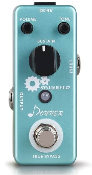 Donner Stylish Fuzz Pedal for Electric Guitar