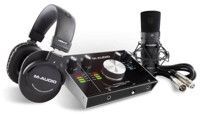 M Audio M Track Audio Interface for Recording Electric Guitar