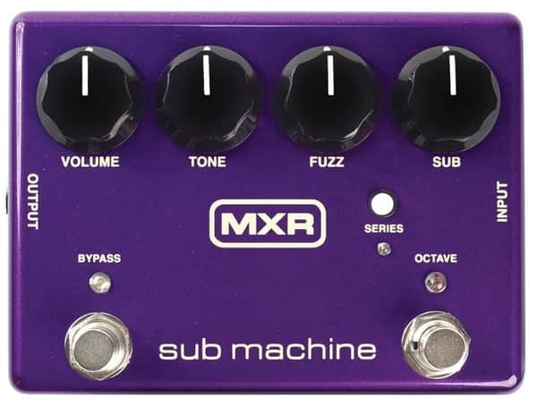 MXR M225 Sub Octave Fuzz Pedal for Electric Guitar