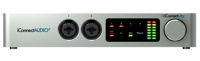 iConnectAudio2+ Audio Interface for iPad and iOS devices