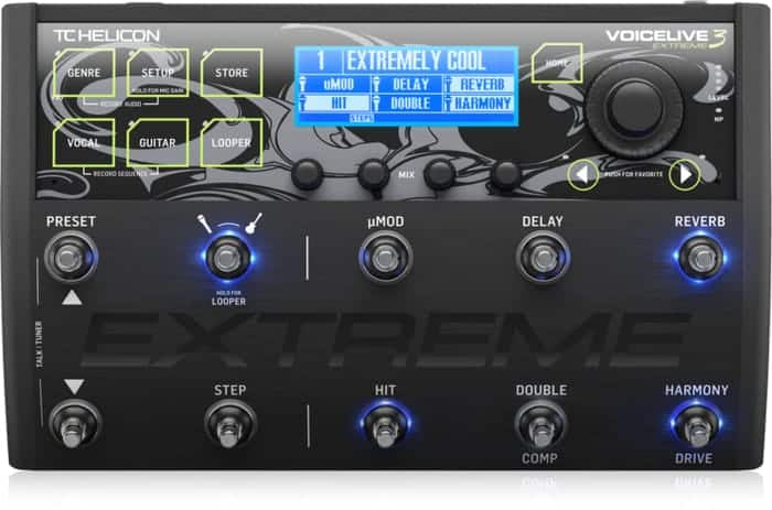 VoiceLive 3 Extreme Front of Interface