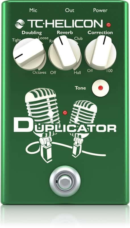 TC Helicon Duplicator - Front of Unit