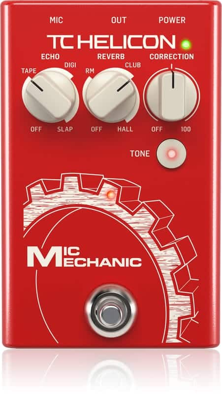 TC Helicon Mic Mechanic 2 - Front of Interface