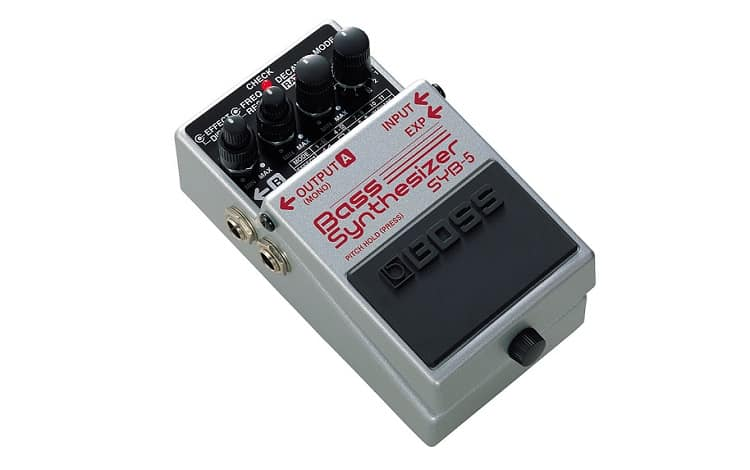BOSS Bass Synthesizer Guitar Pedal (SYB-5)