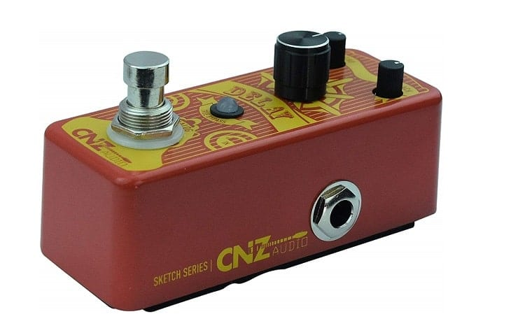 CNZ Audio Analog Delay Guitar Effects Pedal