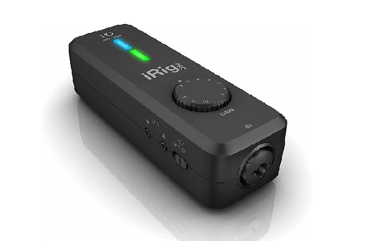 IK Multimedia iRig Pro I/O compact instrument/microphone audio interface for iPhone
