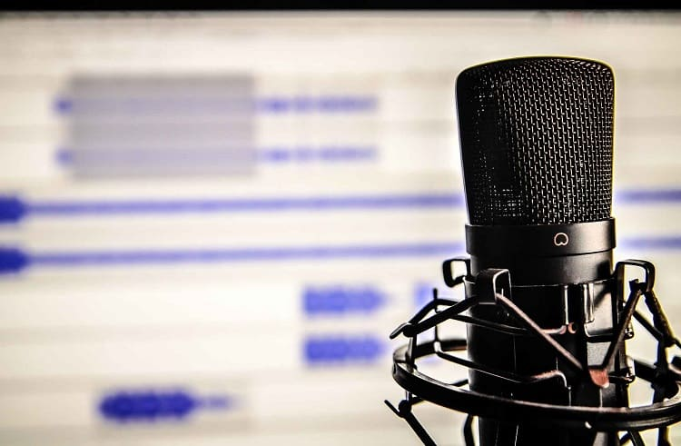 studio microphone ready for recording