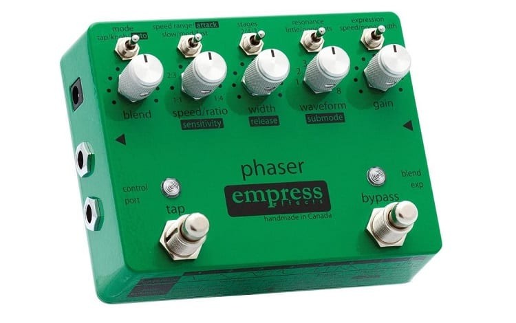 Empress Effects Phaser Guitar Effects Pedal Review