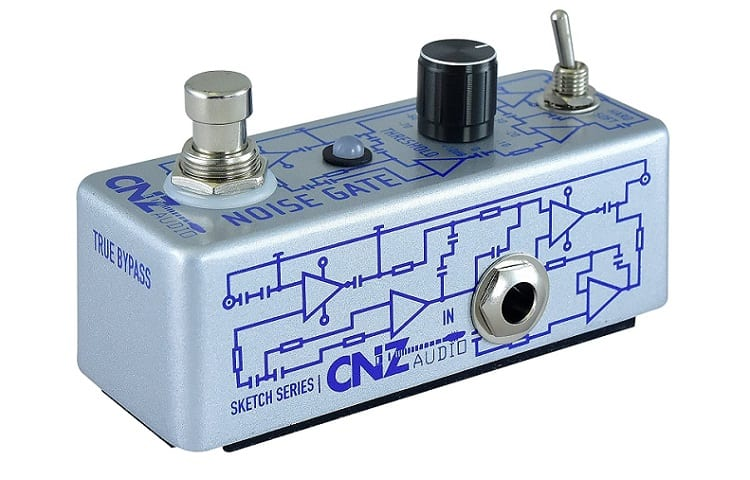 CNZ Audio Noise Gate - Guitar Effects Pedal Review