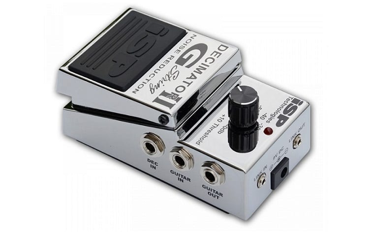 ISP Technologies Decimator II Noise Reduction Pedal Review Review
