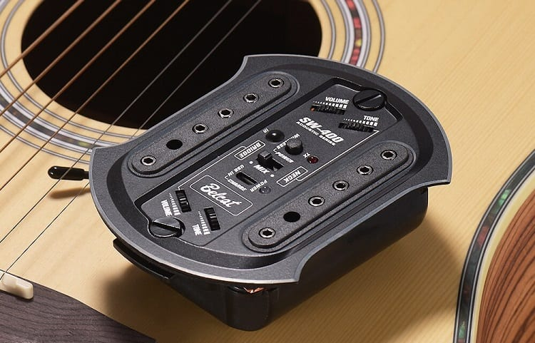 soundhole pickup with wifi